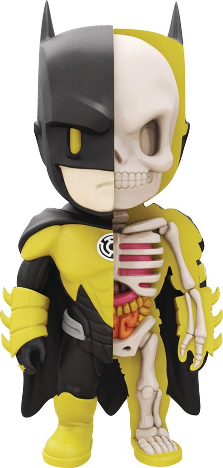 XXRAY + DC COMICS BATMAN YELLOW LANTERN 4IN VINYL FIGURE (C:
