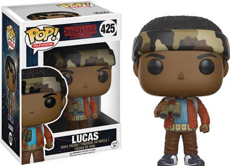 POP STRANGER THINGS LUCAS VINYL FIG (C: 1-1-2)