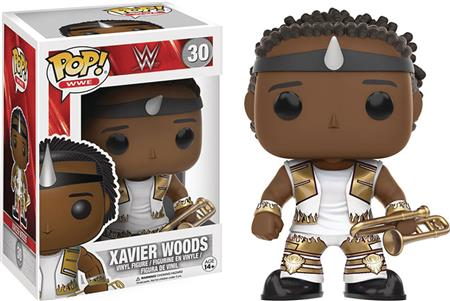 POP WWE XAVIER WOODS VINYL FIG (C: 1-1-2)