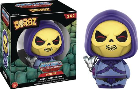 DORBZ MOTU SKELETOR VINYL FIG (C: 1-1-2)