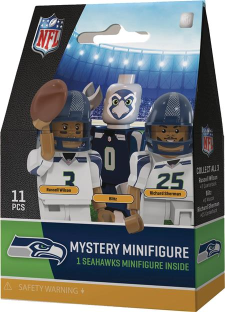 OYO NFL SEATTLE SEAHAWKS 24PC BMB DIS (C: 1-1-2)