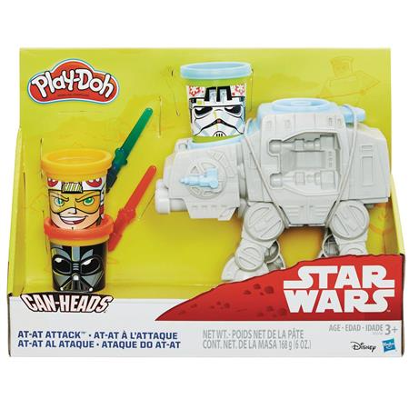 PLAY-DOH SW AT-AT ATTACK SET CS (C: 1-1-1)