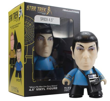 NYCC 2016 EXCL STAR TREK TOS TITANS SPOCK 4.5IN VIN FIG (C: