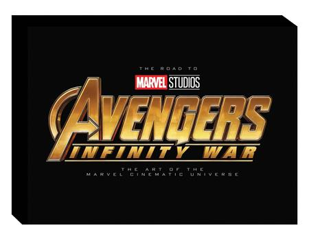 ROAD TO MARVELS AVENGERS INFINITY WAR ART SLIPCASE HC VOL 02