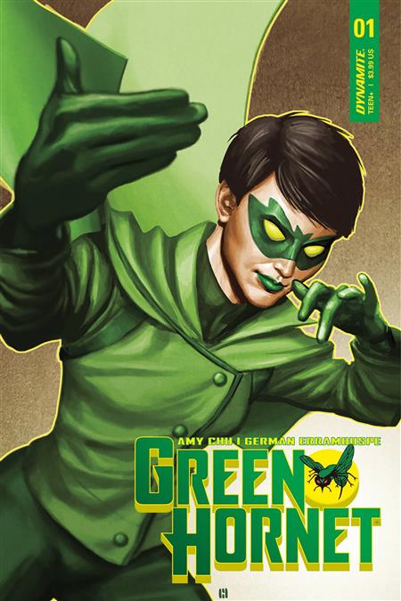 GREEN HORNET #1 CVR A CHOI