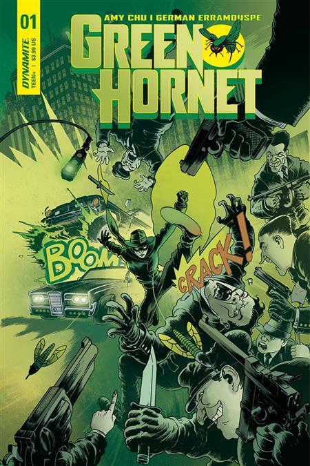 GREEN HORNET #1 CVR D WILSON