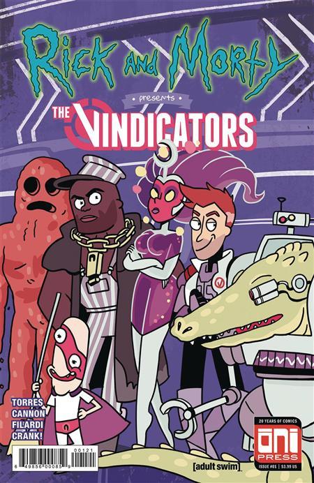 RICK & MORTY PRESENTS THE VINDICATORS #1 CVR B
