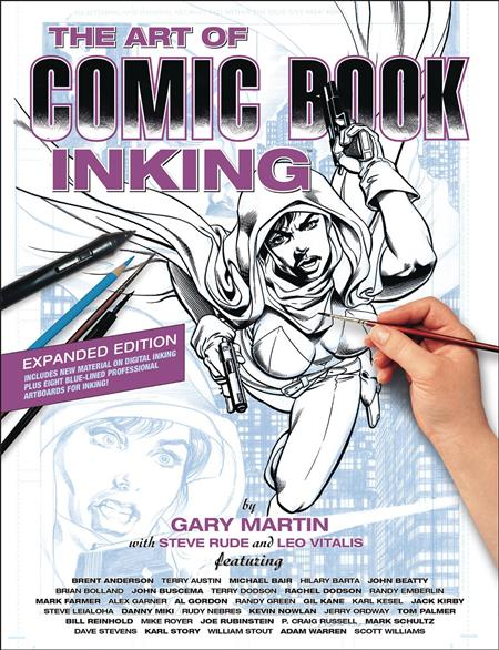 ART OF COMIC BOOK INKING TP 3RD EDITION (C: 0-1-2)