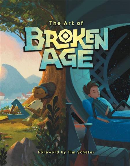 ART OF BROKEN AGE HC (C: 1-0-0)