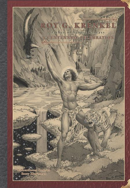 ART OF ROY G KRENKEL FATHER OF HEROIC FANTASY HC (C: 0-1-2)