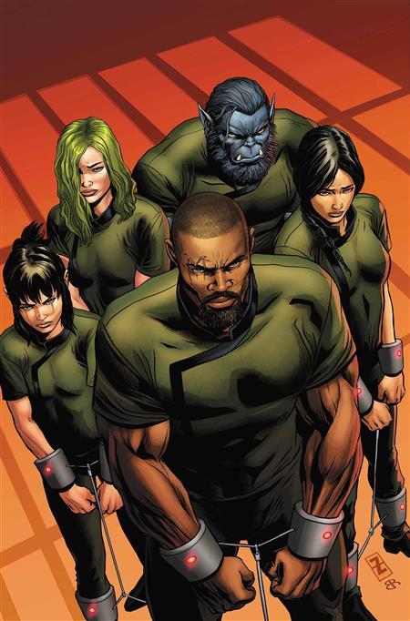 AGE OF X-MAN PRISONER X #1 (OF 5)