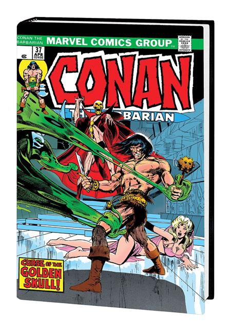 CONAN THE BARBARIAN ORIGINAL MARVEL YEARS OMNIBUS HC VOL 02 ADAMS DM VAR