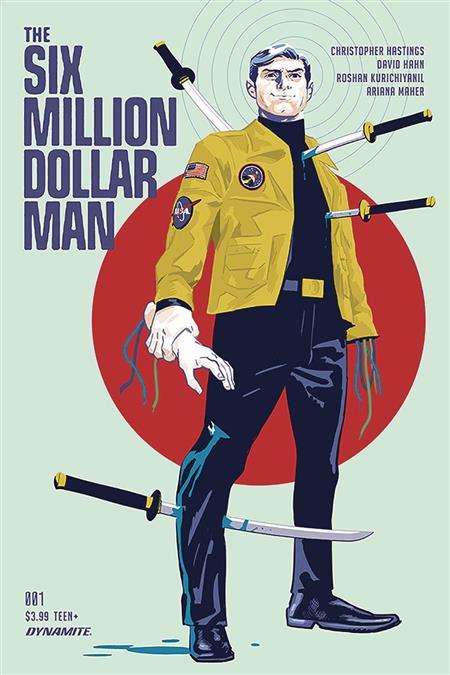 SIX MILLION DOLLAR MAN #1 CVR A WALSH