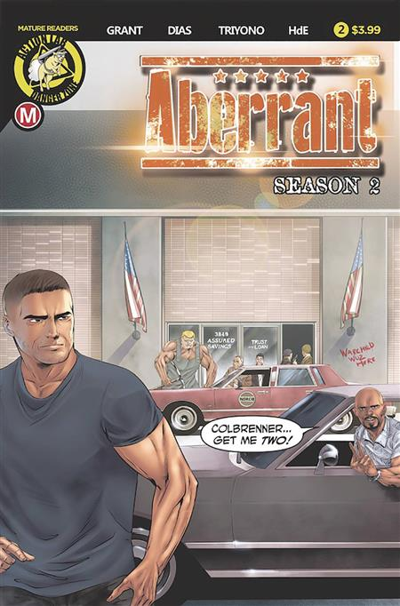 ABERRANT SEASON 2 #2 (OF 5) CVR A LEON DIAS (MR)