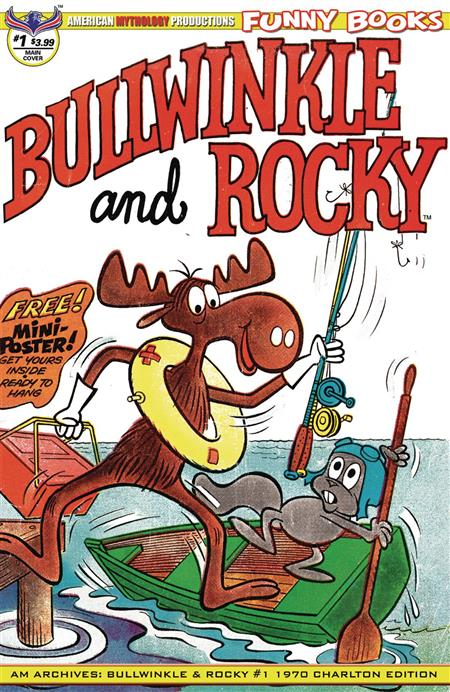 AM ARCHIVES BULLWINKLE & ROCKY #1 CHARLTON ED (C: 0-1-0)