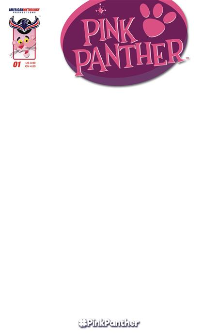 PINK PANTHER #1 BLANK SKETCH CVR