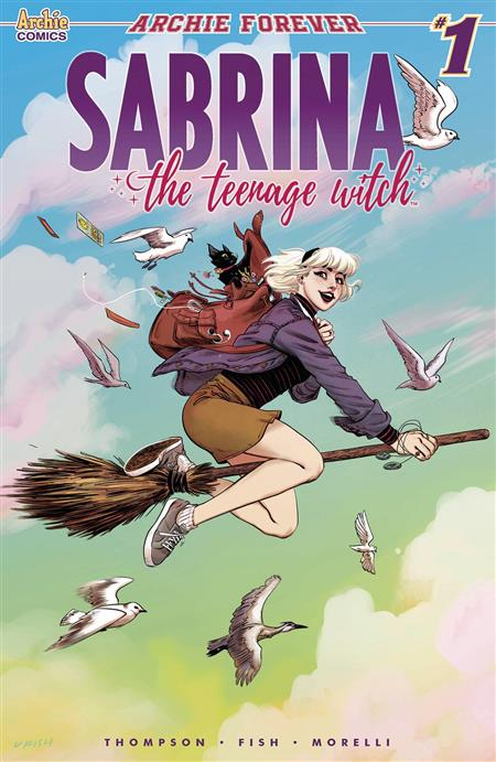 SABRINA TEENAGE WITCH #1 (OF 5) CVR A FISH