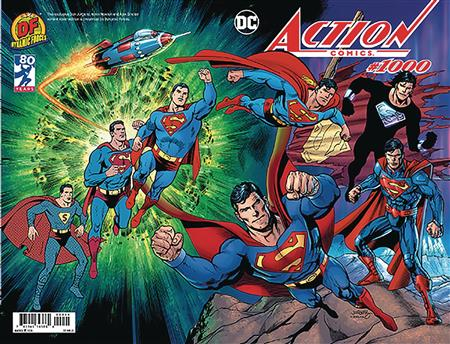 DF ACTION COMICS #1000 WRAPAROUND EXC JURGENS