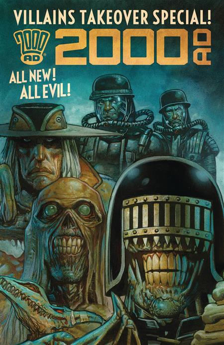 2000 AD VILLAINS TAKEOVER SPECIAL ONESHOT (Net)