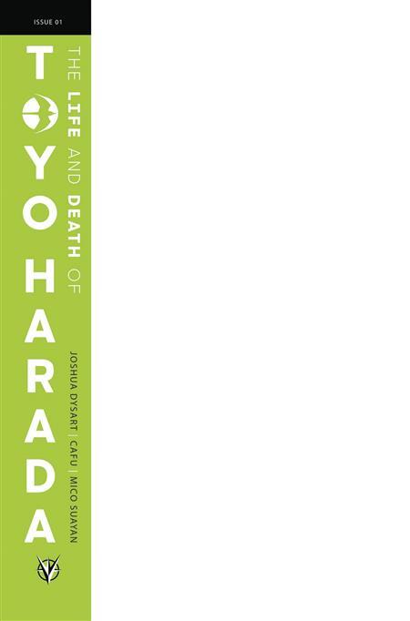 LIFE & DEATH OF TOYO HARADA #1 (OF 6) CVR D BLANK (Net)