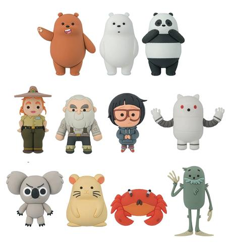 WE BARE BEARS 3D FIGURAL KEYRING 24PC BMB DIS (C: 1-1-2)