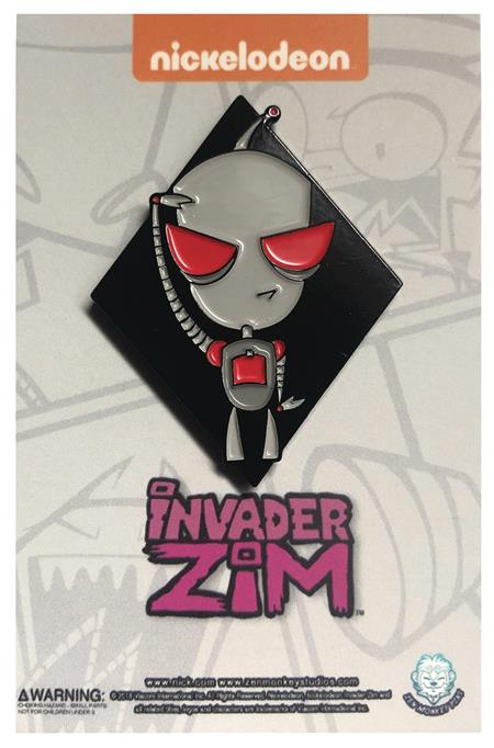 INVADER ZIM BATTLE READY GIR PIN (C: 1-1-2)