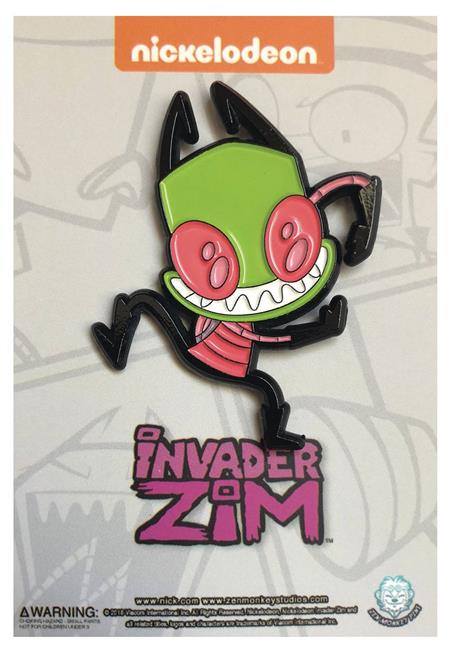 INVADER ZIM DANCING ZIM PIN (C: 1-1-2)