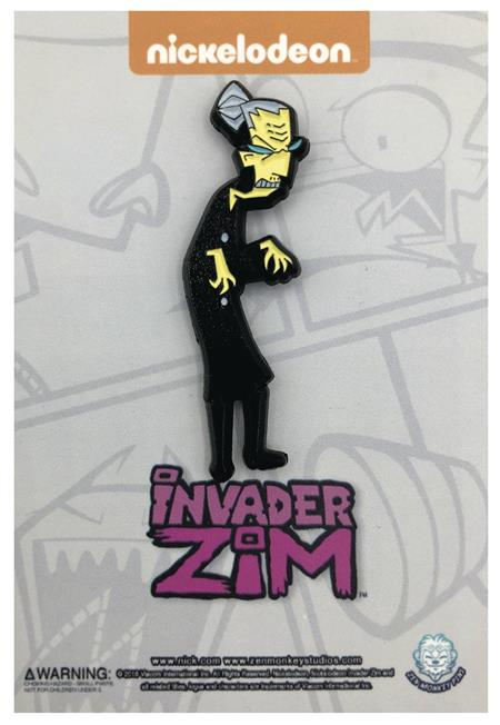 INVADER ZIM MS BITTERS PIN (C: 1-1-2)