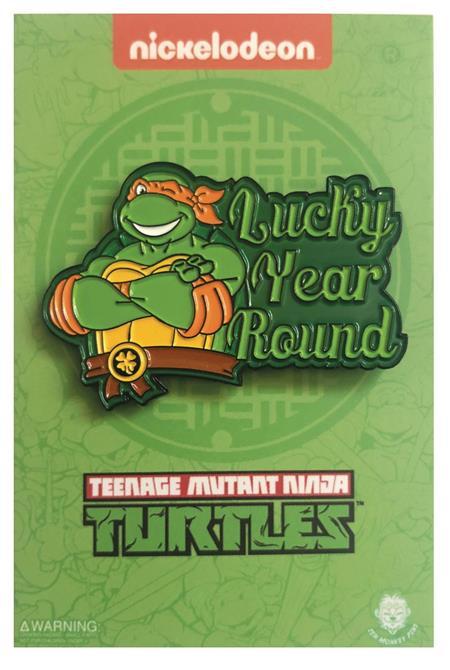 TMNT LUCKY YEAR ROUND MICHAELANGELO (C: 1-1-2)