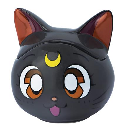 SAILOR MOON LUNA 3D SCULPTED MUG WITH LID (C: 1-1-2)