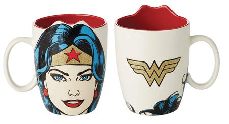 DC HEROES WONDER WOMAN SCULPTED MUG (C: 1-1-2)
