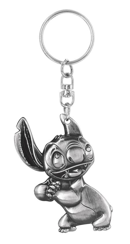 LILO AND STITCH PEWTER KEY RING (C: 1-1-2)
