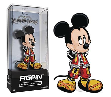 FIGPIN DISNEY KINGDOM HEARTS KING MICKEY PIN (C: 1-1-2)