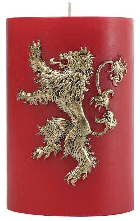 GAME OF THRONES LANNISTER SCULPTED SIGIL CANDLE (C: 1-1-2)