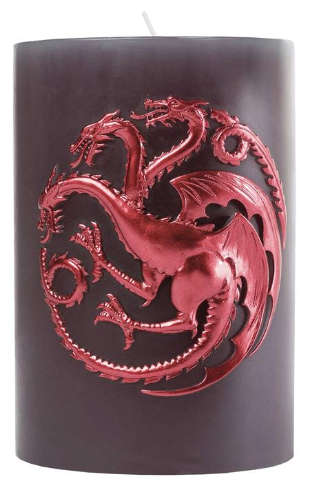 GAME OF THRONES TARGARYEN SCULPTED SIGIL CANDLE (C: 1-1-2)