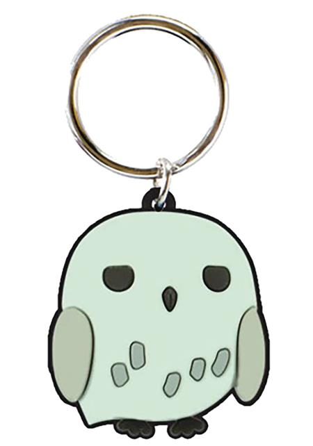 HARRY POTTER HEDWIG SOFT TOUCH PVC KEY RING (C: 1-1-2)