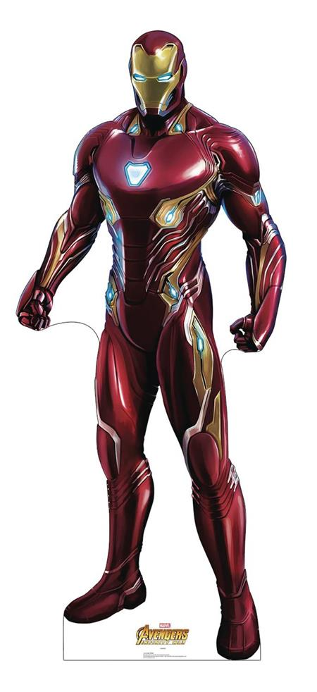 MARVEL INFINITY WAR IRON MAN LIFE-SIZE STAND UP (C: 1-1-2)