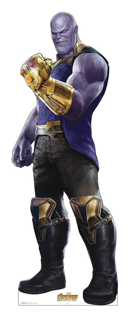 MARVEL INFINITY WAR THANOS LIFE-SIZE STAND UP (C: 1-1-2)