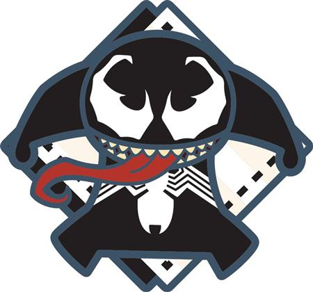 MARVEL KAWAII VENOM PIN (C: 1-1-1)