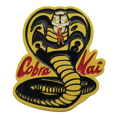 KARATE KID COBRA KAI LOGO ENAMEL PIN (C: 1-1-2)