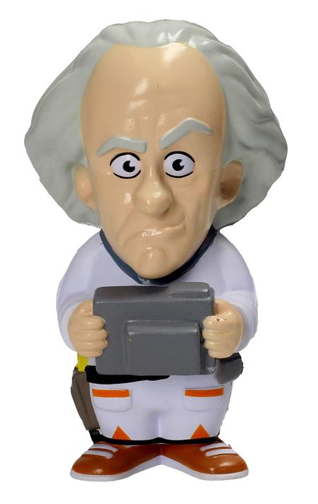 BACK TO THE FUTURE DOC BROWN STRESS DOLL (C: 1-1-2)