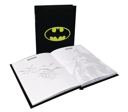 BATMAN LIGHT UP NOTEBOOK (C: 1-1-1)