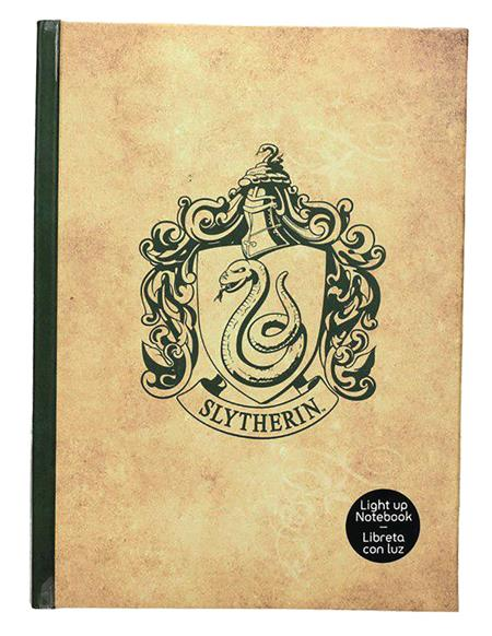HARRY POTTER SLYTHERIN LIGHT UP NOTEBOOK (C: 1-1-1)