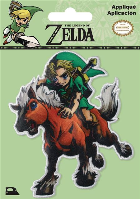 NINTENDO LEGEND OF ZELDA LINK AND EPONA PATCH (C: 1-1-2)