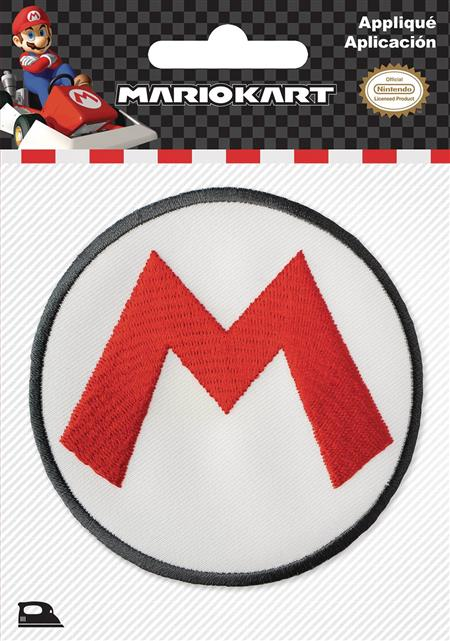 NINTENDO SUPER MARIO LOGO PATCH (C: 1-1-2)