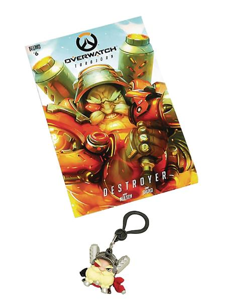 OVERWATCH TORBJORN COMIC & BACKPACK HANGER BUNDLE (C: 1-1-2)