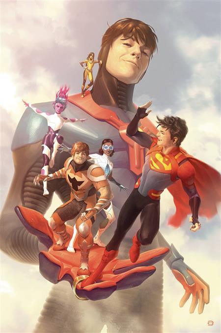 LEGION OF SUPER HEROES #5 CARD STOCK ALEX GARNER VAR ED