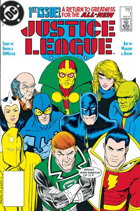 DOLLAR COMICS JUSTICE LEAGUE #1 1987