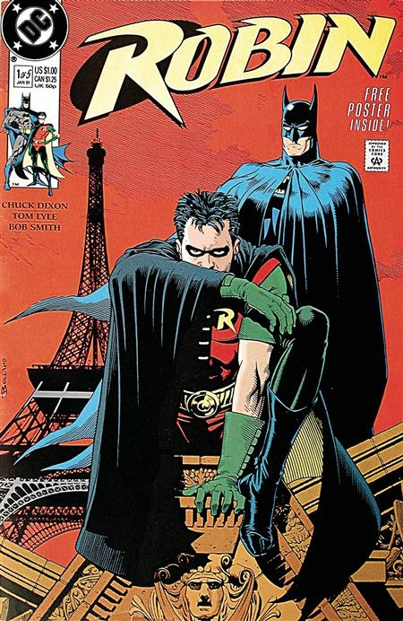DOLLAR COMICS ROBIN #1 1991