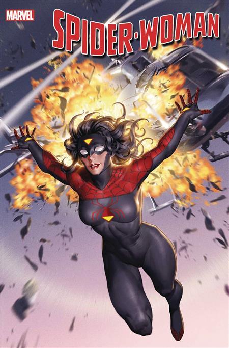 SPIDER-WOMAN #1 YOON NEW COSTUME CVR